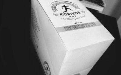 DISPLAY για τις συσκευασμένες ελιές KORIVOS