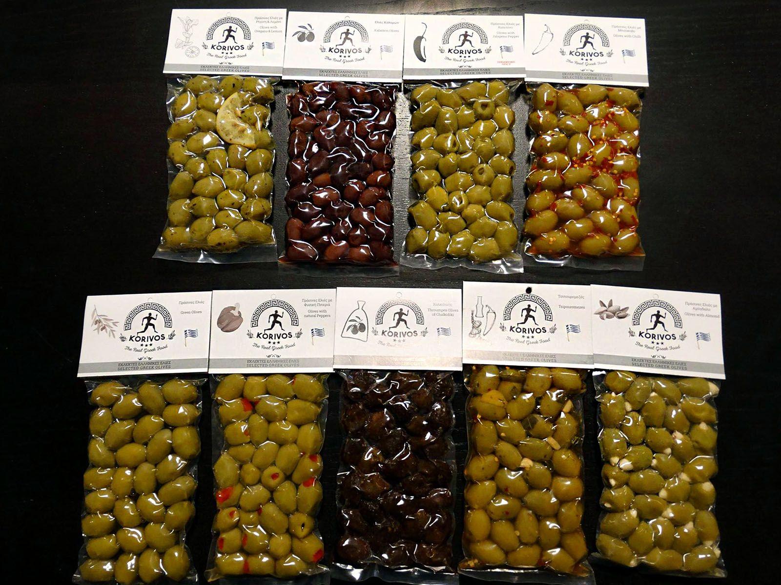 oles korivos olives