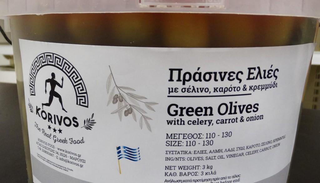 green olives carot korivos