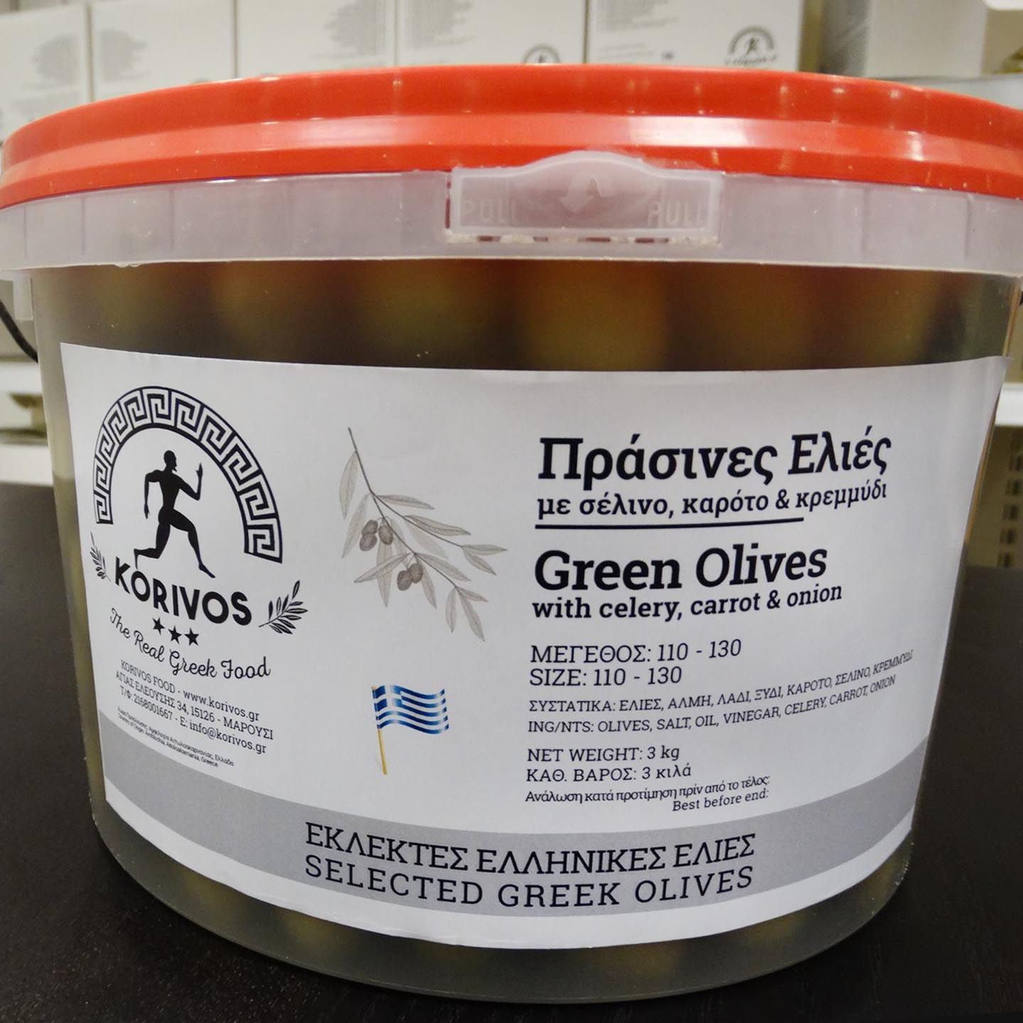 green olives carot korivos